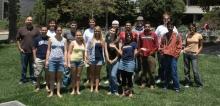 2009 Internship Group photo