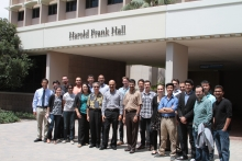 2014 Summer Internships group photo