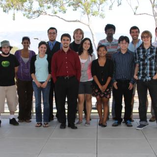 2012 Summer Internship group photo
